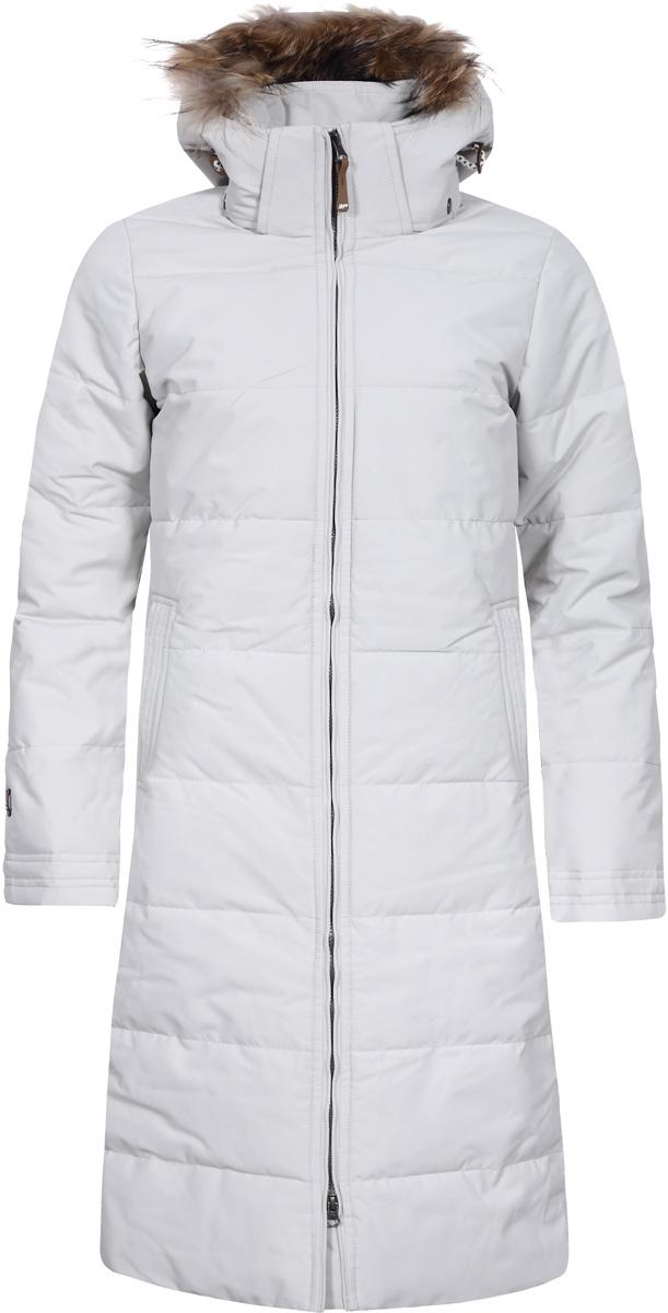 Пальто женское Icepeak Tiina, цвет: белый. 853054532IVA_015. Размер 36 (42) tiina saluvere litteraria sari sinu isiklik piksevarras karin kase kirjad kaarel irdile 1953 1984