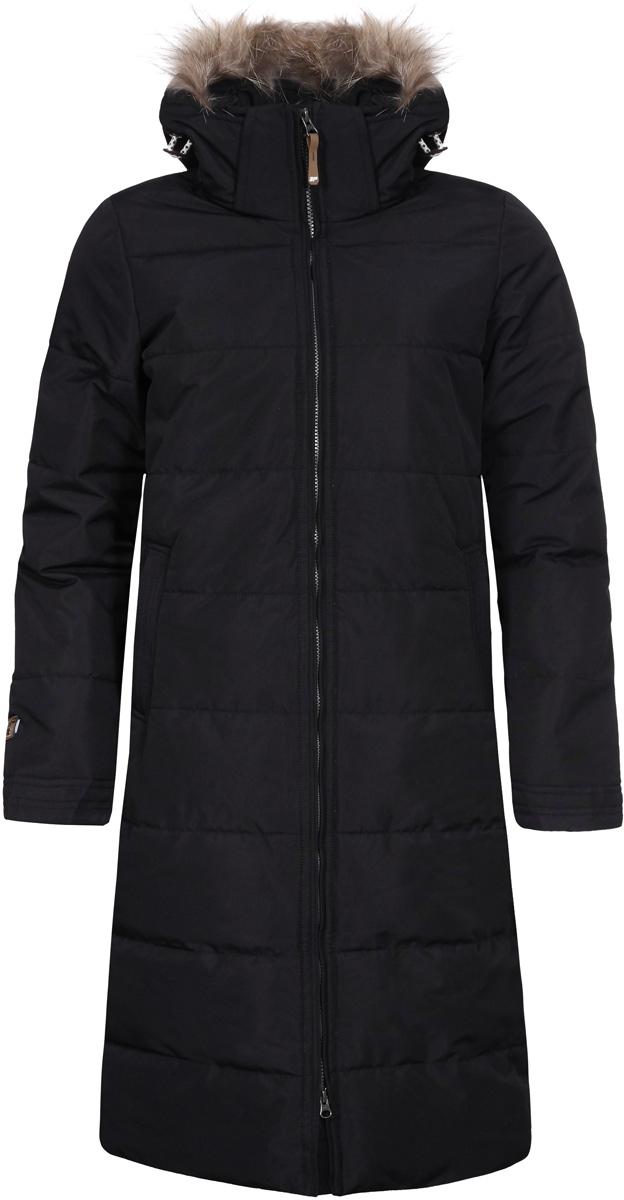 Пальто женское Icepeak Tiina, цвет: черный. 853054532IVA_990. Размер 38 (44) tiina saluvere litteraria sari sinu isiklik piksevarras karin kase kirjad kaarel irdile 1953 1984