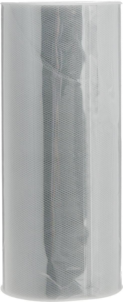 Фатин Ideal, средней жесткости, цвет: серый (37), ширина 15 см, длина 22,86 мTBY.MS.200.37Фатин Ideal в шпульке незаменим для творчества и рукоделия. Данный вид фатина активно используется при декоре помещения. Из-за удобной ширины (150 мм) можно без лишних движений (не разрезая) делать красивые банты для украшения автомобилей, мебели и помещений. Также фатин в шпульке использует во флористике для декора букетов и упаковки подарков. Помимо вышесказанного, фатин данной фасовки и ширины активно используется швейниками для пошива детских юбок, платьев, декора одежды и головных уборов.