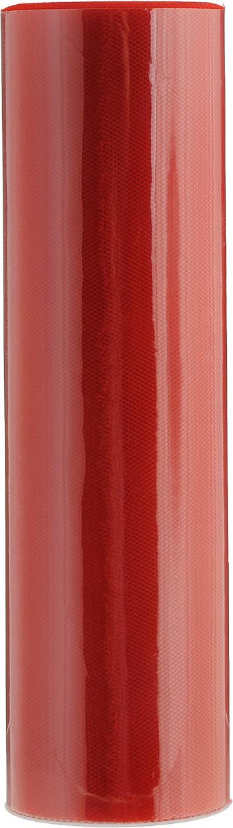 Фатин Ideal, средней жесткости, цвет: красный (08), ширина 22 см, длина 22,86 мTBY.MS.220.08Фатин Ideal в шпульке незаменим для творчества и рукоделия. Данный вид фатина активно используется при декоре помещения. Из-за удобной ширины (220 мм) можно без лишних движений (не разрезая) делать красивые банты для украшения автомобилей, мебели и помещений. Также фатин в шпульке использует во флористике для декора букетов и упаковки подарков. Помимо вышесказанного, фатин данной фасовки и ширины активно используется швейниками для пошива детских юбок, платьев, декора одежды и головных уборов.