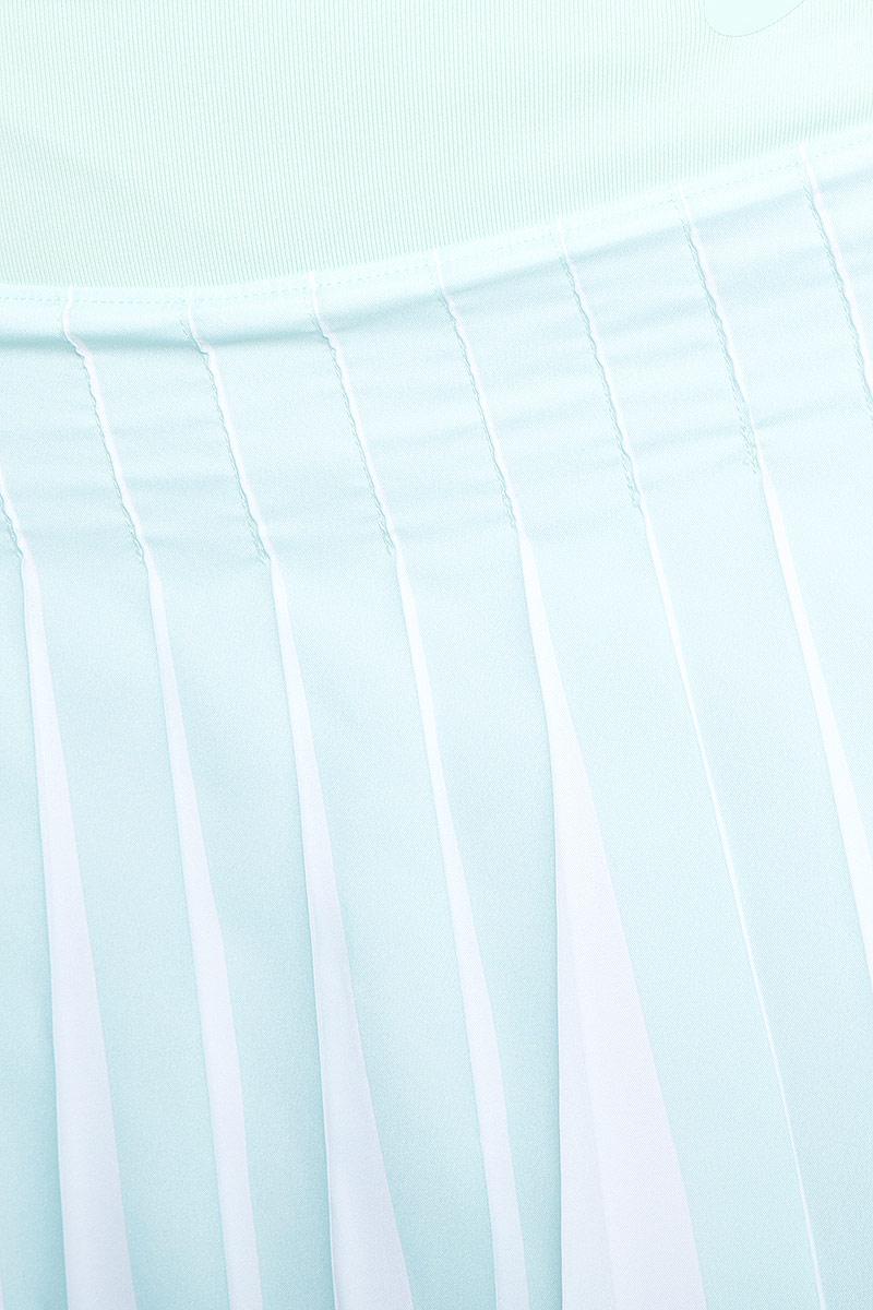 Юбка Asics Athlete Pleat Skort, цвет:  нежно-голубой.  146476-0490.  Размер L (48/50) Asics