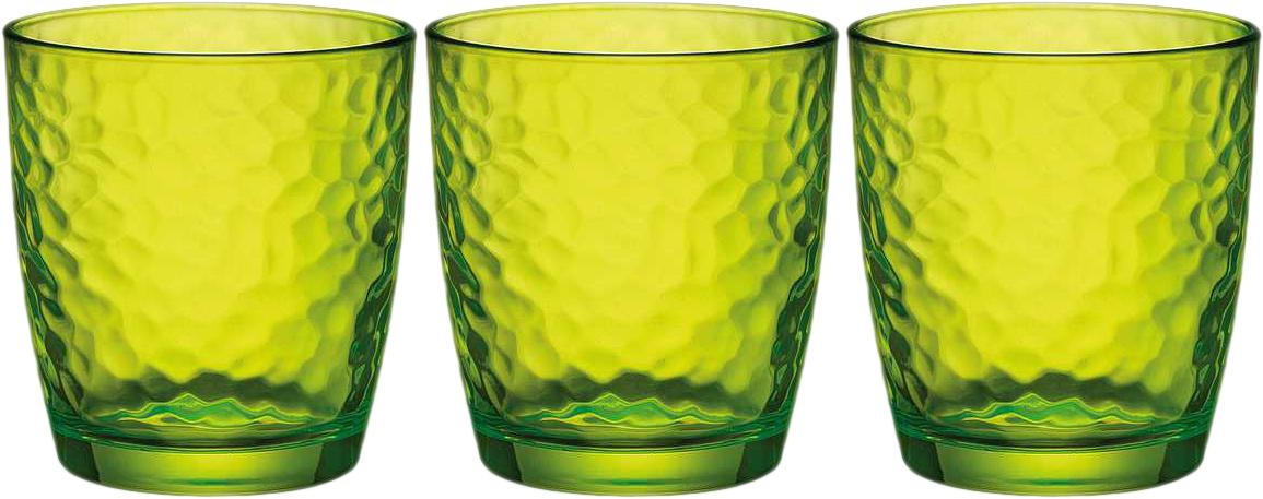Набор стаканов Bormioli Rocco Палатина, цвет: зеленый, 3 шт. 662570Q02021591662570Q02021591