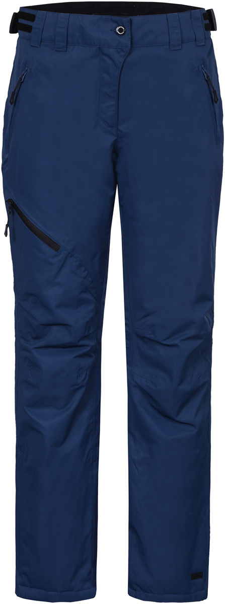 Брюки женские Icepeak, цвет: синий. 854090659IV_365. Размер 36 (42)854090659IV_365Женские брюки от Icepeak выполнены из полиэстера. Модель застегивается на пуговицу в талии и ширинку на молнии, имеются шлевки для ремня.