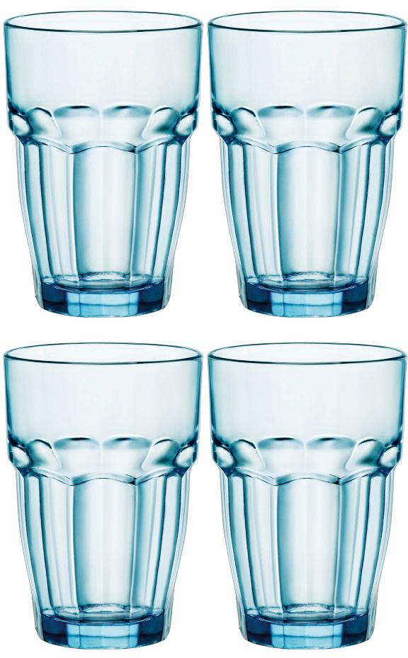 Набор стаканов Bormioli Rocco Рок Бар Лаундж , цвет: голубой, 370 мл, 4 шт418970C09821990Набор Bormioli Rocco Рок Бар Лаундж состоит из 4 граненых стаканов, выполненных из цветного стекла. Стаканы предназначены для холодных напитков. Благодаря такому набору пить напитки будет еще вкуснее. Стаканы Bormioli Rocco Рок Бар Лаундж станут идеальным украшением праздничного стола и отличным подарком к любому случаю. Высота стакана: 12 см.