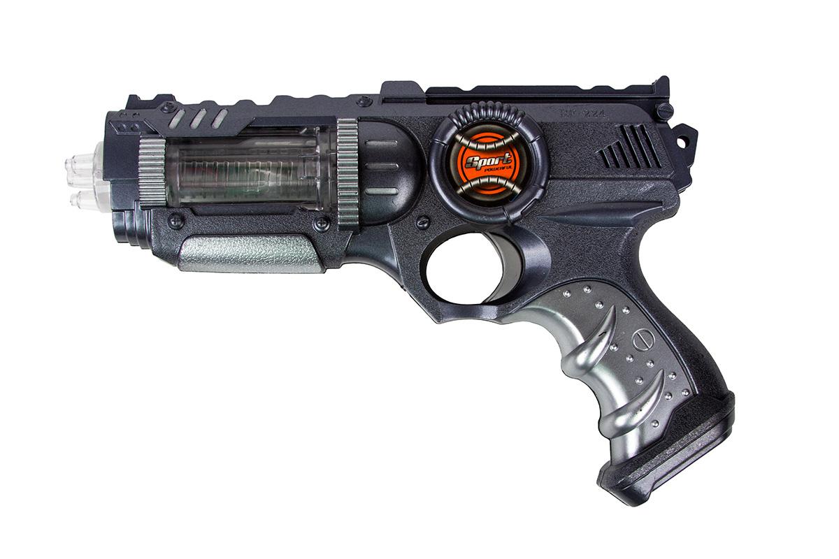 Battletime Пистолет Ворон battletime пистолет пулемет опустошитель