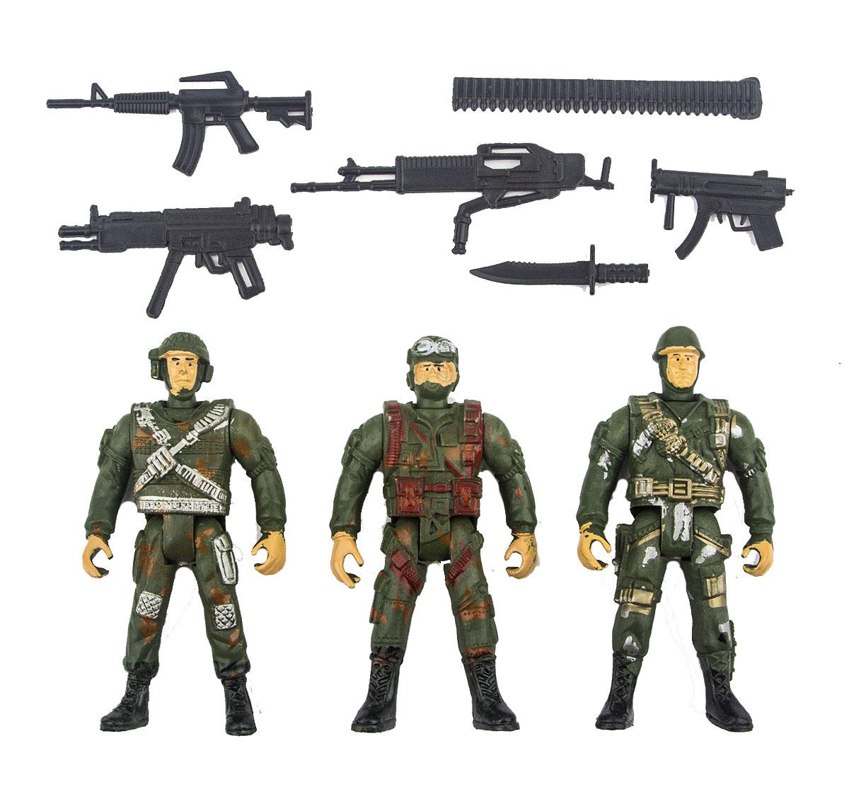 Battletime Набор солдатиков Отряд Морские Львы battletime пистолет пулемет опустошитель