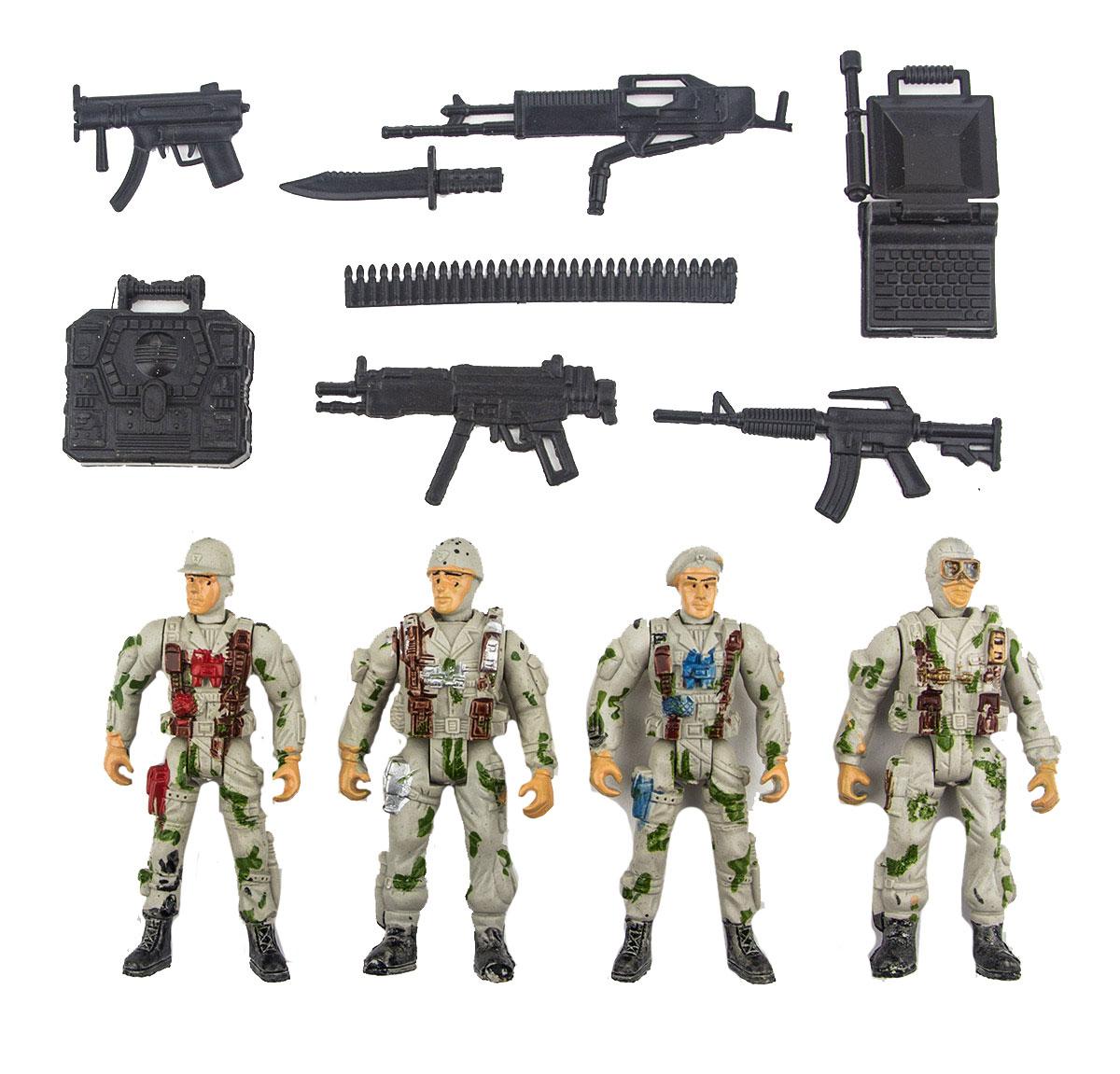 Battletime Набор солдатиков Отряд Гепард battletime пистолет пулемет опустошитель