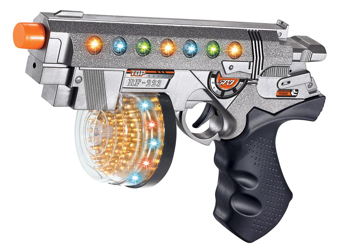 Battletime Пистолет-пулемет Опустошитель автомат пулемет 1toy т58356 камуфляж