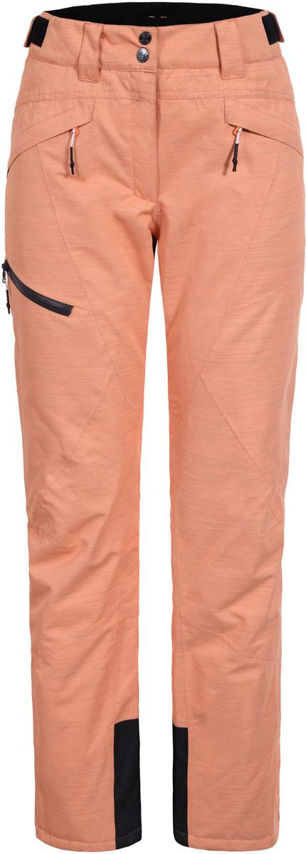 Брюки жен Icepeak, цвет: оранжевый. 854094576IV_443. Размер 40 (46)854094576IV_443