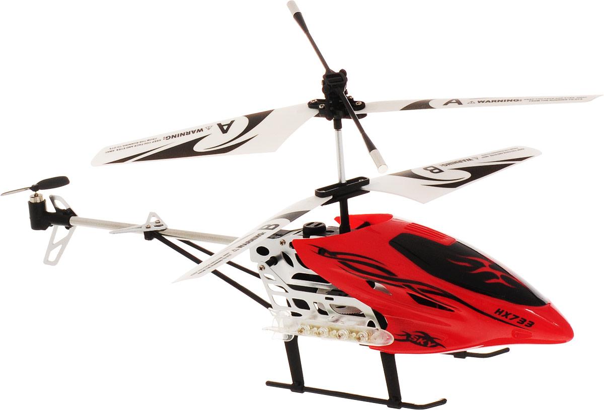 Mioshi Вертолет на радиоуправлении Tech IR-530 цвет красный