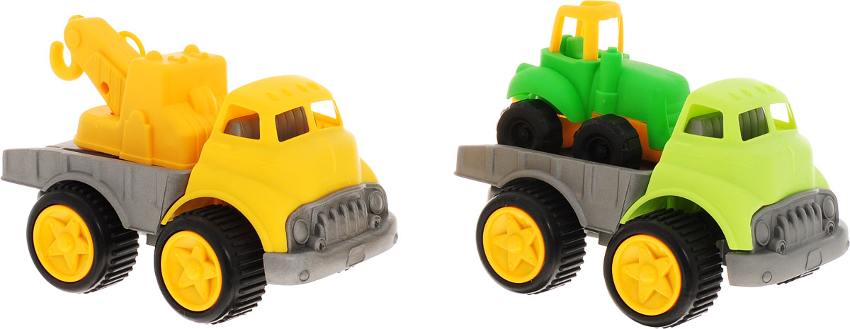 You&Me Набор машинок Автокран грузовик и трактор