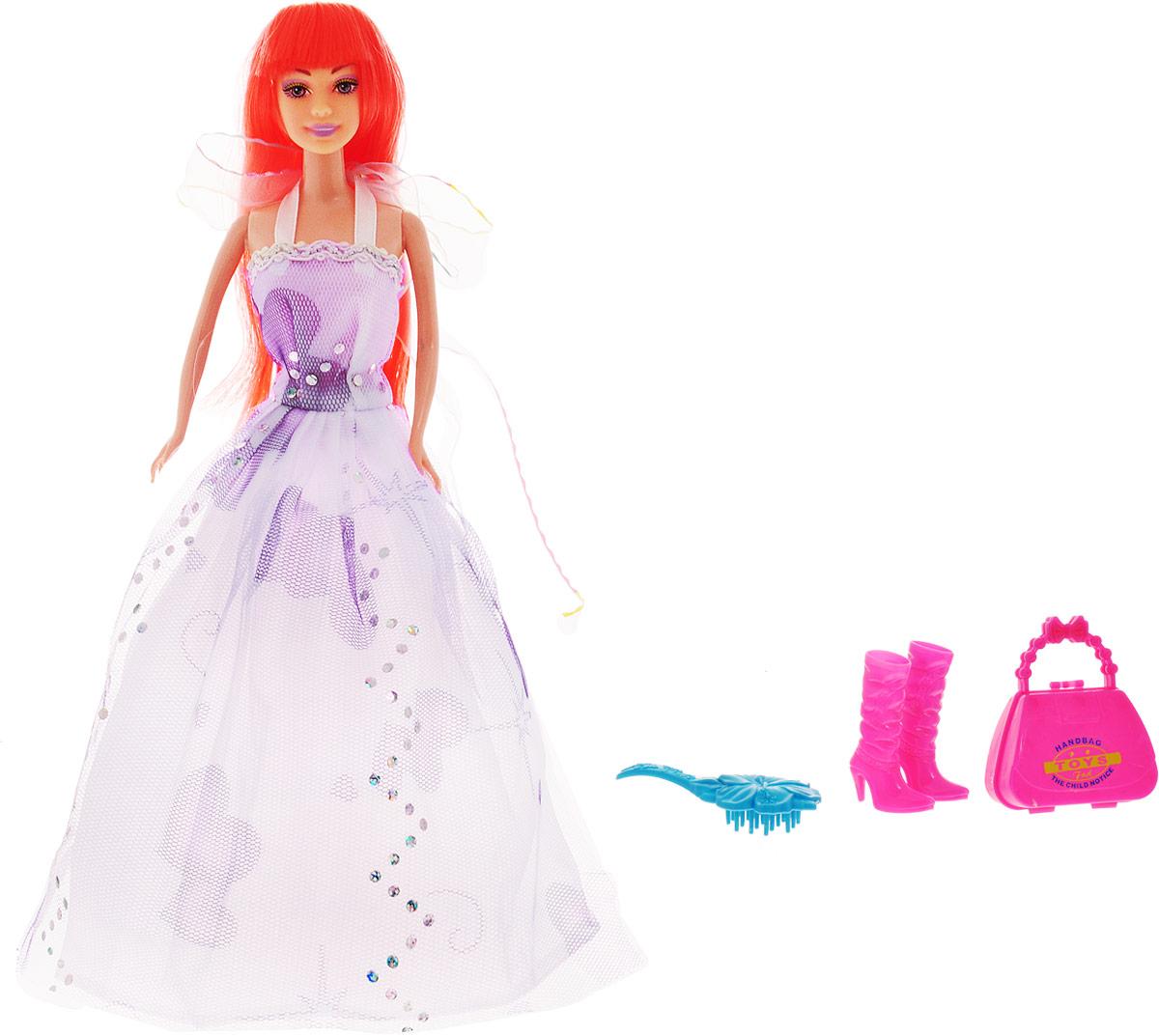 DollyToy Кукла Яркая девчонка dollytoy мебель для кукол книжный шкаф