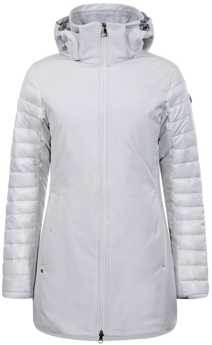 Куртка жен Luhta, цвет: белый. 838419382LV_010. Размер 44 (52)838419382LV_010