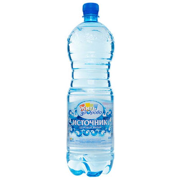 Источник здоровой жизни питьевая вода негазированная, 1,5 л наталья степанова для здоровья от недугов