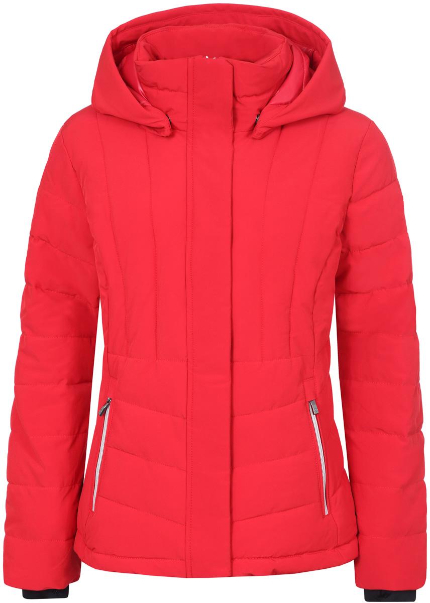 Куртка женская Luhta, цвет: красный. 838449535LV_655. Размер 42 (50) куртка женская luhta цвет темно синий 838411535lv 390 размер 42 50