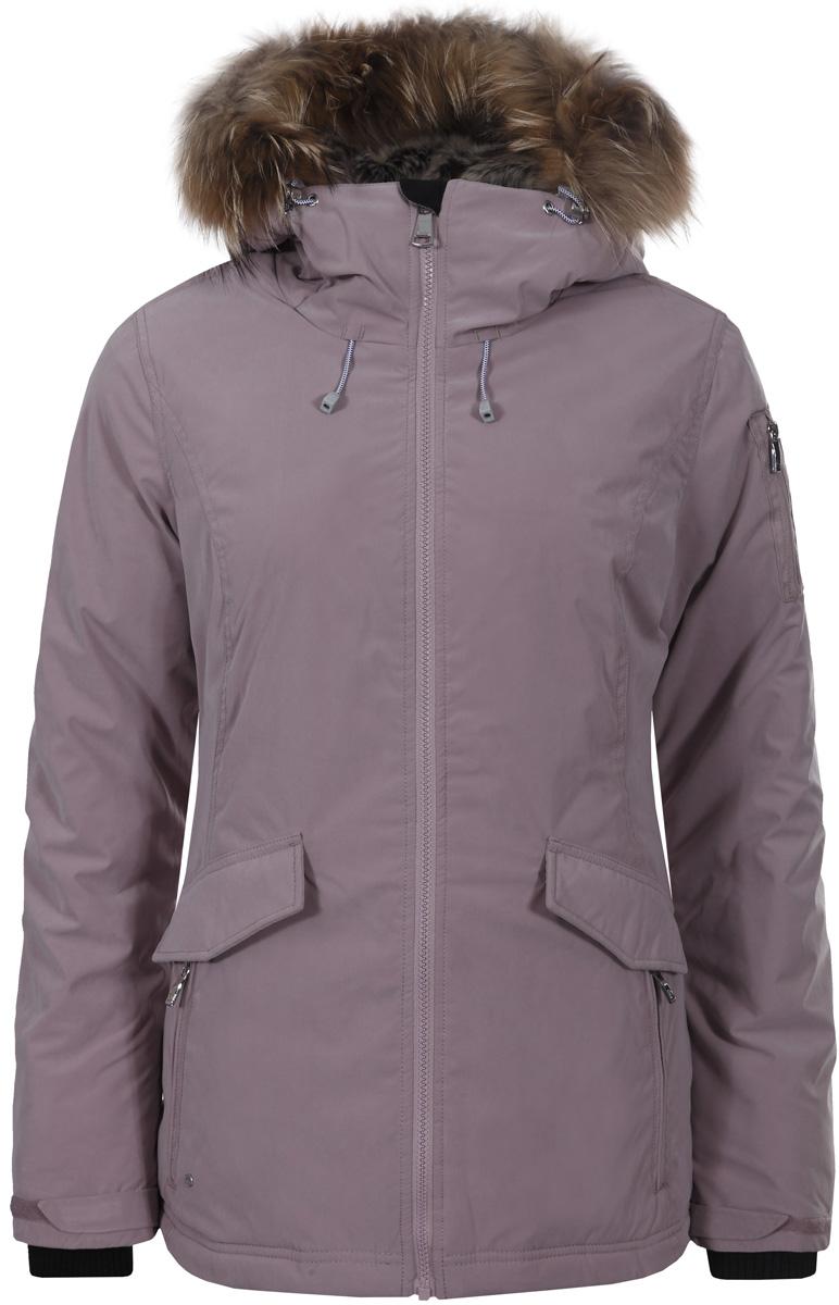 Куртка женская Luhta, цвет: светло-розовый. 838400345L7V_625. Размер 44 (52) куртка женская luhta цвет бордовый 838470370lv 680 размер 36 44