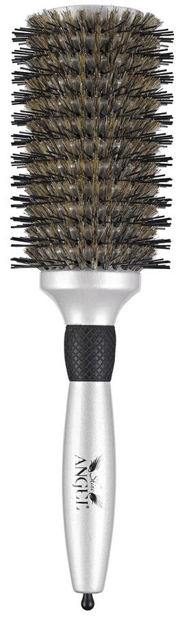 Tangle Angle Расческа для волос Shine, 7 см21043Shine Angel - это расческа для укладки, которая придает волосам усиленный блеск, дополнительный объем и шелковистую гладкость. Vобразные зубчики расчески с естественной щетиной, что обеспечивает более тесный контакт с волосами, эффективное разглаживание, увеличение блеска и кондиционирования волос.