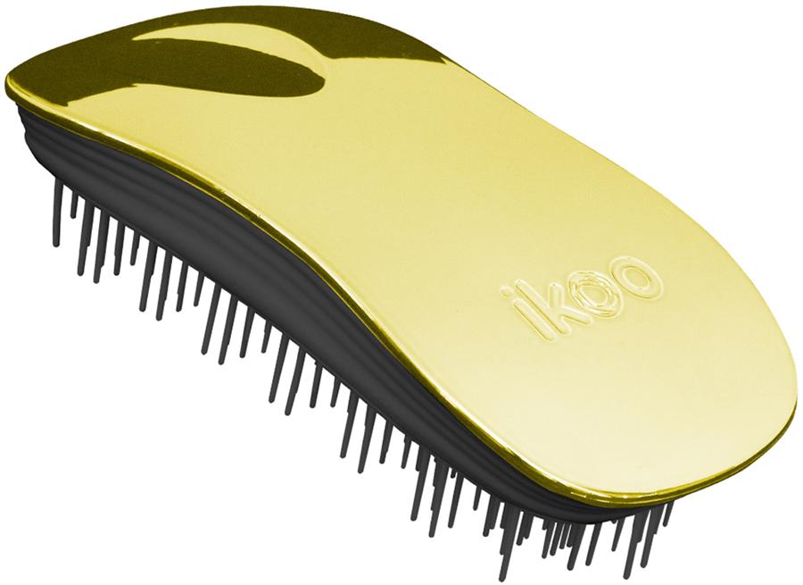 Ikoo Home Расческа для волос Black Soleil Metallic290207Уникальный подход щетки IKOO — расположение и структура щетинок, которые позволяют не только легко распутывать и расчесывать волосы, но и делать массаж головы в соответствии с принципами традиционной китайской медицины. Щетинки стимулируют энергетические меридианы и рефлексогенные зоны, что также положительно влияет на вегетативную нервную систему. Благодаря оптимальной степени твердости щетины, волосы распутываются легко и без вытягивания. Щетка ikoo сохраняет свою функциональность даже после долговременного использования.Щетки IKOO изготовлены из высококачественной смолы и акрила. Для комфортного использования корпус щетки отделан натуральной резиной, что помогает надежно удерживать щетку в руке. Скомбинировав эти три материала, мы избежали использования дерева и натуральной щетины, так как эти материалы подходят не для всех типов волос, а также труднее очищаются. Щетки IKOO соблюдают все гигиенические стандарты за счет своего состава. Во процессе разработки мы уделили большое внимание дизайну щетки, чтобы и правшам, и левшам было комфортно ей пользоваться.