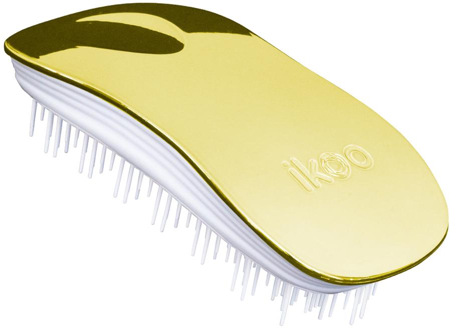 Ikoo Home Расческа для волос White Soleil Metallic290214Уникальный подход щетки IKOO — расположение и структура щетинок, которые позволяют не только легко распутывать и расчесывать волосы, но и делать массаж головы в соответствии с принципами традиционной китайской медицины. Щетинки стимулируют энергетические меридианы и рефлексогенные зоны, что также положительно влияет на вегетативную нервную систему. Благодаря оптимальной степени твердости щетины, волосы распутываются легко и без вытягивания. Щетка ikoo сохраняет свою функциональность даже после долговременного использования.Щетки IKOO изготовлены из высококачественной смолы и акрила. Для комфортного использования корпус щетки отделан натуральной резиной, что помогает надежно удерживать щетку в руке. Скомбинировав эти три материала, мы избежали использования дерева и натуральной щетины, так как эти материалы подходят не для всех типов волос, а также труднее очищаются. Щетки IKOO соблюдают все гигиенические стандарты за счет своего состава. Во процессе разработки мы уделили большое внимание дизайну щетки, чтобы и правшам, и левшам было комфортно ей пользоваться.