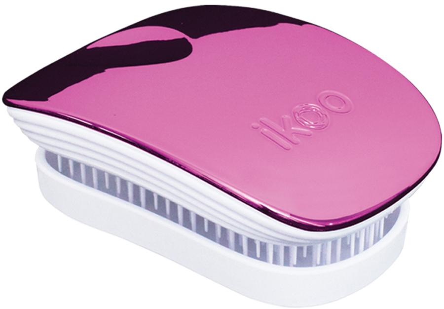 Ikoo Pocket Расческа для волос White Cherry Metallic291075Уникальный подход щетки IKOO — расположение и структура щетинок, которые позволяют не только легко распутывать и расчесывать волосы, но и делать массаж головы в соответствии с принципами традиционной китайской медицины. Щетинки стимулируют энергетические меридианы и рефлексогенные зоны, что также положительно влияет на вегетативную нервную систему. Благодаря оптимальной степени твердости щетины, волосы распутываются легко и без вытягивания. Щетка ikoo сохраняет свою функциональность даже после долговременного использования.Щетки IKOO изготовлены из высококачественной смолы и акрила. Для комфортного использования корпус щетки отделан натуральной резиной, что помогает надежно удерживать щетку в руке. Скомбинировав эти три материала, мы избежали использования дерева и натуральной щетины, так как эти материалы подходят не для всех типов волос, а также труднее очищаются. Щетки IKOO соблюдают все гигиенические стандарты за счет своего состава. Во процессе разработки мы уделили большое внимание дизайну щетки, чтобы и правшам, и левшам было комфортно ей пользоваться.