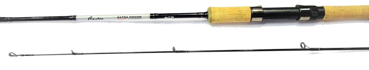 Удилище спининговое Caster XP 702ML, штекерное, цвет: черный, 2,13 м, 5-25 г2218537