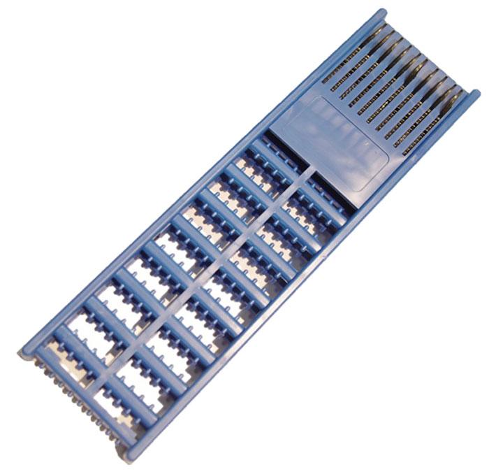 Мотовило AGP, для поводков с пружиной, цвет: синийА4-0031AGP - удобное мотовило на 10 поводков особенностью которого является наличие пружин, которые обеспечивают удобное хранение и транспортировку поводков любой длины. За счет сжатия и разжатия пружин, поводки будут всегда натянуты и не запутаются.Размер: 21,5 х 6 х 1,3 см.