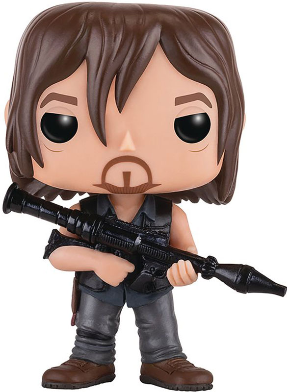 Funko POP! Vinyl Фигурка The Walking Dead: Daryl w/ Rocket Launcher набор фигурок the walking dead 4 в 1 8 см