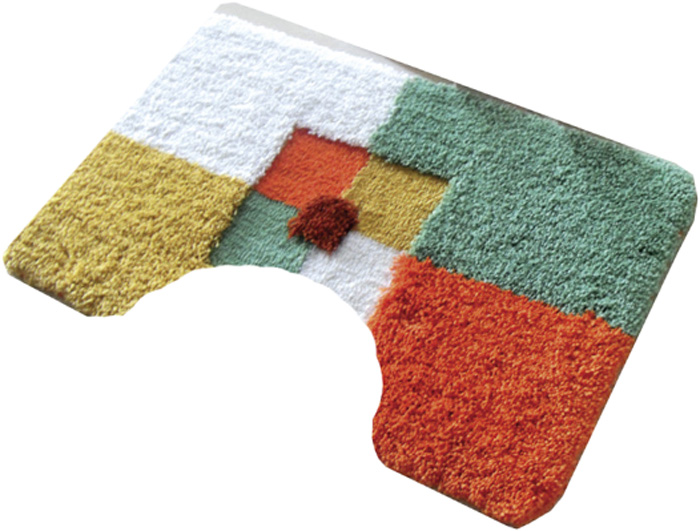 Коврик для туалета Dasch Санта, цвет: мультиколор, 55 х 55 см4435Невероятно мягкий ворсовый коврик Dasch для туалета. Ворс выполнен из микрофибры по уникальной технологии, разработанной специально для этой коллекции. Тончайшая микрофибра закручена в нить ворса таким образом, что она наполнена воздухом, и буквально дышит, что делает ворс невероятно мягким и нежным на ощупь. Благодаря такой технологии изготовления коврик обладает высокими влаговпитывающими свойствами.Яркие расцветки достигаются окрасом нитей высококачественными красителями, которые дают насыщенный цвет, не выцветают со временем и не линяют при стирке и использовании. Основание коврика выполнено из высококачественного латекса, который обеспечивает противоскользящий эффект, не крошится даже при длительном использовании. Коврик подходит для пола с подогревом. Допускается деликатная ручная или машинная стирка при температуре 30°С. После стирки коврик быстро сохнет. Плотность ворса 700 г/м2.