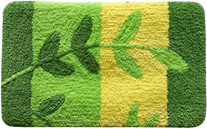 """Невероятно мягкий ворсовый коврик для ванной комнаты Dasch """"Силвана"""" обеспечит комфорт и уют. Ворс выполнен из микрофибры по уникальной технологии, разработанной специально для этой коллекции. Тончайшая микрофибра закручена в нить ворса таким образом, что она наполнена воздухом и буквально дышит, что делает ворс невероятно мягким и нежным на ощупь. Благодаря такой технологии изготовления коврик обладает высокими влаговпитывающими свойствами. Яркие расцветки достигаются окрасом нитей высококачественными красителями, которые дают насыщенный цвет, не выцветают со временем и не линяют при стирке и использовании. Основание коврика выполнено из высококачественного латекса, который обеспечивает противоскользящий эффект, не крошится даже при длительном использовании. Коврик подходит для пола с подогревом. Допускается деликатная ручная или машинная стирка при температуре 30°C. После стирки коврик быстро сохнет. Плотность ворса: 700 гр/м2."""