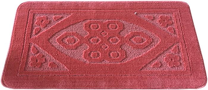 Коврик для ванной комнаты Dasch Узор, цвет: розовый, 50 х 80 см коврик круглый для ванной dasch авангард