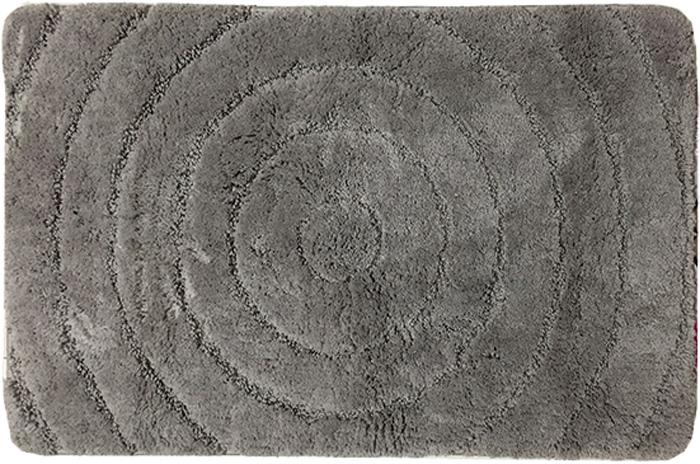 Коврик для ванной комнаты Dasch Джулия, цвет: серый, 60 х 100 см коврик круглый для ванной dasch авангард