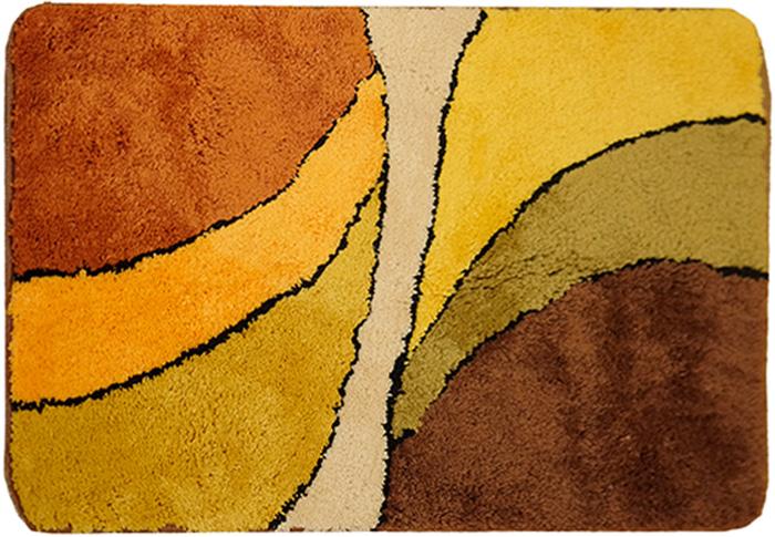 Коврик для ванной комнаты Dasch Габриэлла, цвет: мультиколор, 60 х 100 см коврик круглый для ванной dasch авангард
