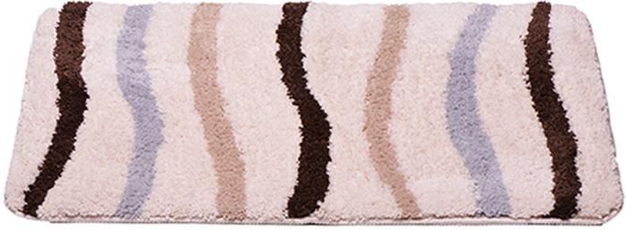 Коврик для ванной комнаты Dasch Анетта, цвет: бежевый, 60 х 100 см коврик круглый для ванной dasch авангард