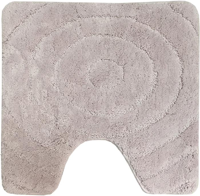 Коврик для туалета Dasch Джулия, цвет: розовый, 55 х 55 см5819Невероятно мягкий ворсовый коврик для туалета. Ворс выполнен из микрофибры по уникальной технологии, разработанной специально для этой коллекции. Тончайшая микрофибра закручена в нить ворса таким образом, что она наполнена воздухом, и буквально дышит, что делает ворс невероятно мягким и нежным на ощупь. Благодаря такой технологии изготовления коврик обладает высокими влаговпитывающими свойствами. Яркие расцветки достигаются окрасом нитей высококачественными красителями, которые дают насыщенный цвет, не выцветают со временем и не линяют при стирке и использовании. Основание коврика выполнено из высококачественного латекса, который обеспечивает противоскользящий эффект, не крошится даже при длительном использовании. Коврик подходит для пола с подогревом. Допускается деликатная ручная или машинная стирка при t=30 C). После стирки коврик быстро сохнет. Плотность ворса 700 гр/м2