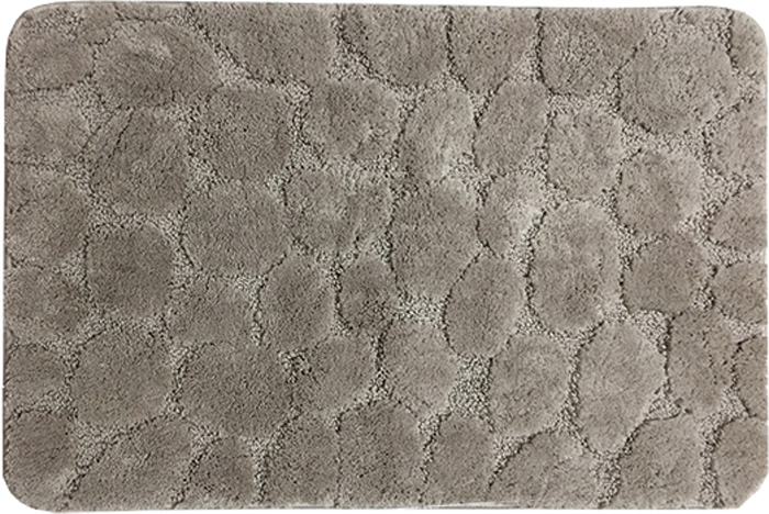 Коврик для ванной Dasch Милена, цвет: коричневый, 50 х 80 см коврик круглый для ванной dasch авангард