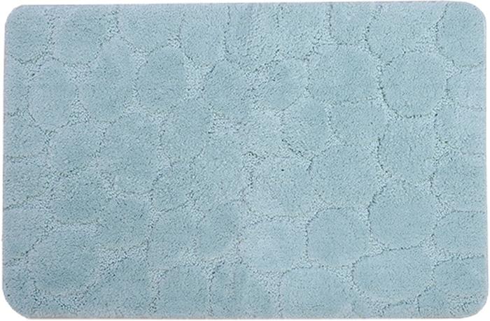 Коврик для ванной комнаты Dasch Милена, цвет: бирюзовый, 50 х 80 см5821Невероятно мягкий ворсовый коврик для вашей ванной комнаты. Ворс выполнен из микрофибры по уникальной технологии, разработанной специально для этой коллекции. Тончайшая микрофибра закручена в нить ворса таким образом, что она наполнена воздухом, и буквально дышит, что делает ворс невероятно мягким и нежным на ощупь. Благодаря такой технологии изготовления коврик обладает высокими влаговпитывающими свойствами. Яркие расцветки достигаются окрасом нитей высококачественными красителями, которые дают насыщенный цвет, не выцветают со временем и не линяют при стирке и использовании. Основание коврика выполнено из высококачественного латекса, который обеспечивает противоскользящий эффект, не крошится даже при длительном использовании. Коврик подходит для пола с подогревом. Допускается деликатная ручная или машинная стирка при t=30 C). После стирки коврик быстро сохнет. Плотность ворса 700 гр/м2
