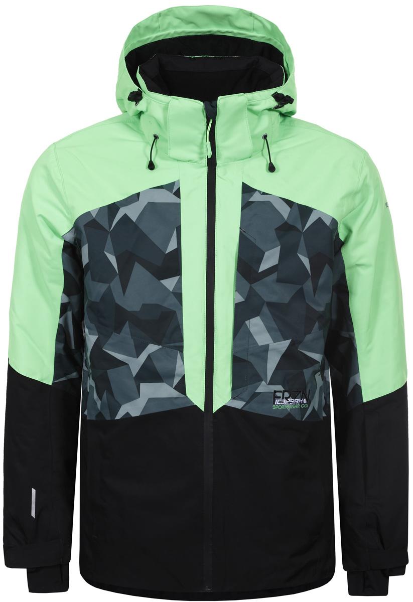 Куртка мужская Icepeak, цвет: светло-зеленый. 856227659IV_550. Размер 46856227659IV_550