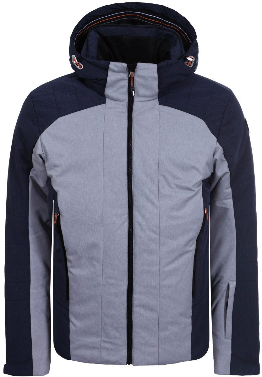 Куртка мужская Icepeak, цвет: серый, синий. 856201611IV_810. Размер 46 брюки женские icepeak savita цвет темно синий 654020542iv размер 46 52