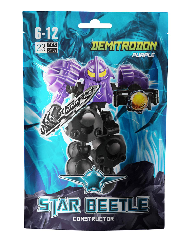 все цены на Zormaer Конструктор Star Beetle Demitrodon онлайн