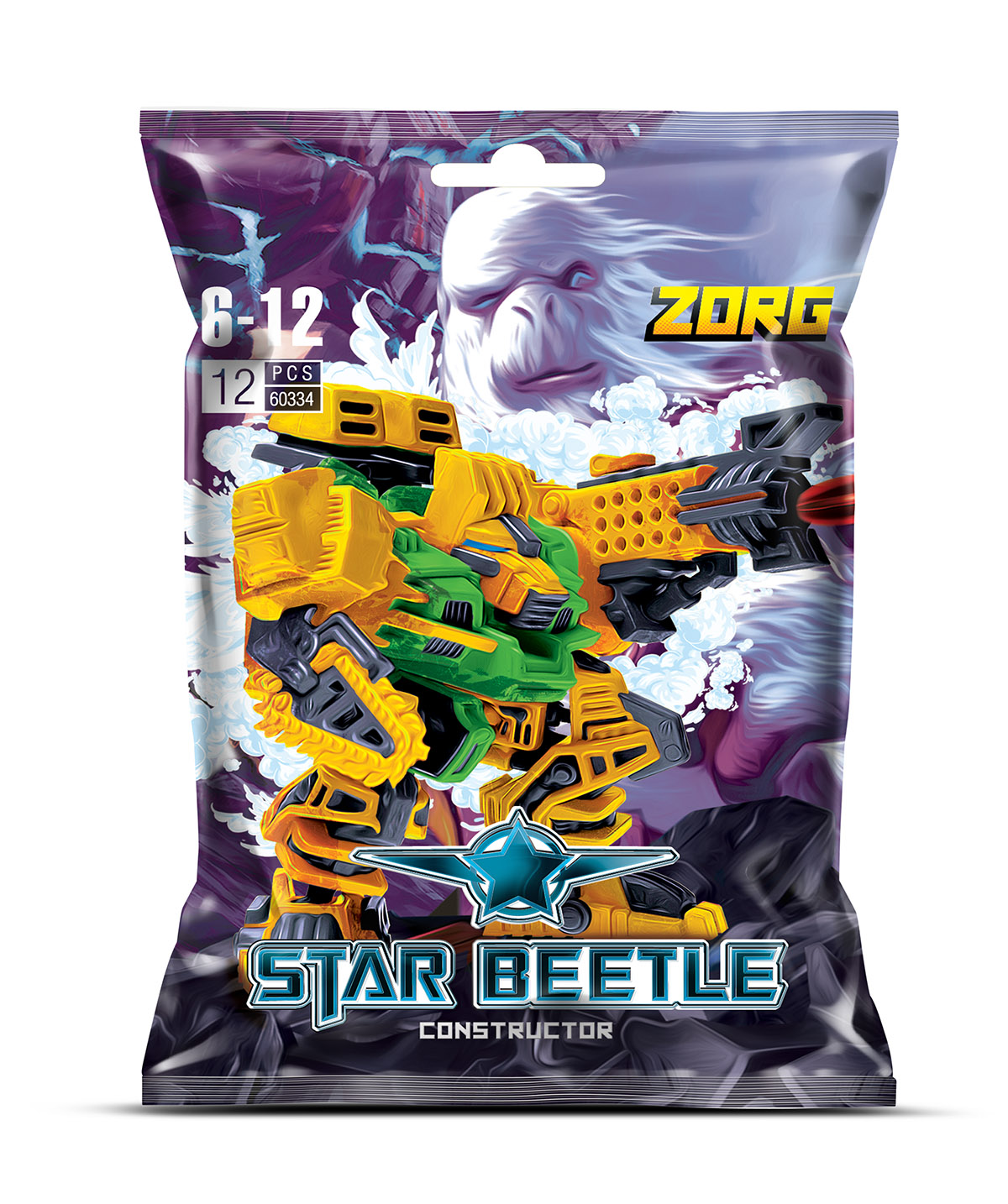 Zormaer Конструктор Star Beetle Zorg