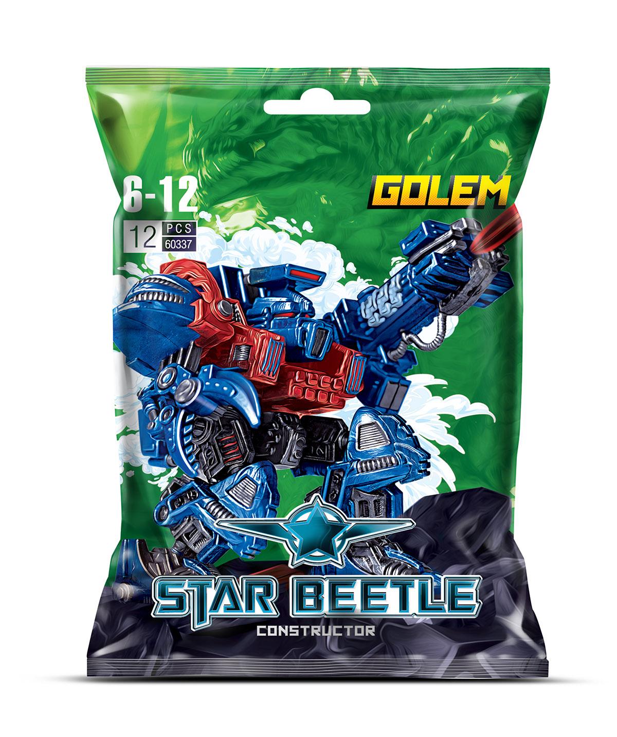 Zormaer Конструктор Star Beetle Golem
