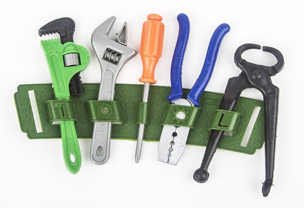 JRX Набор игрушечных инструментов Рабочий сумка пояс для инструментов