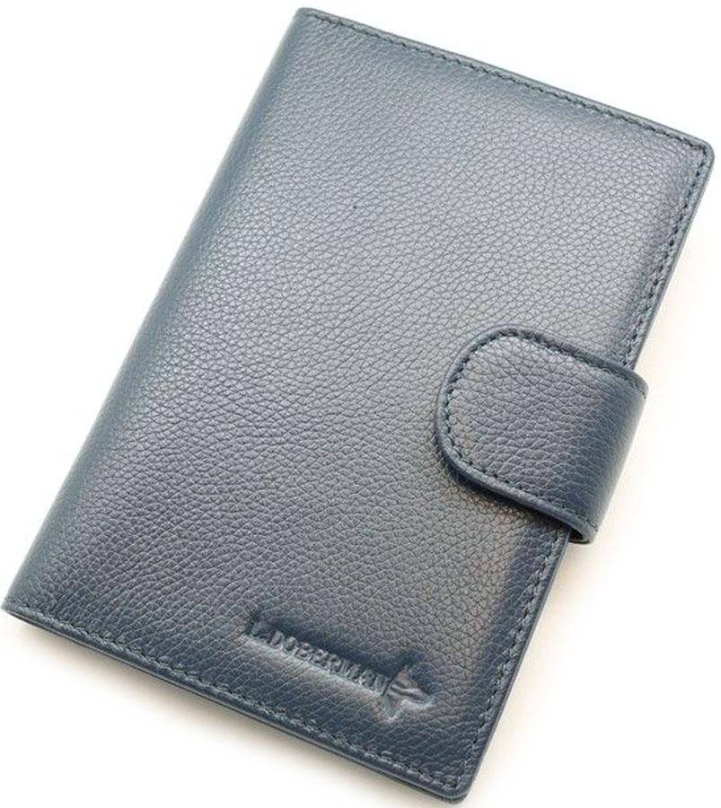 Обложка для автодокументовмужская L.Doberman, цвет: черный. LD 7720-092LD 7720-092Обложка для автодокументов. Натуральная кожа.