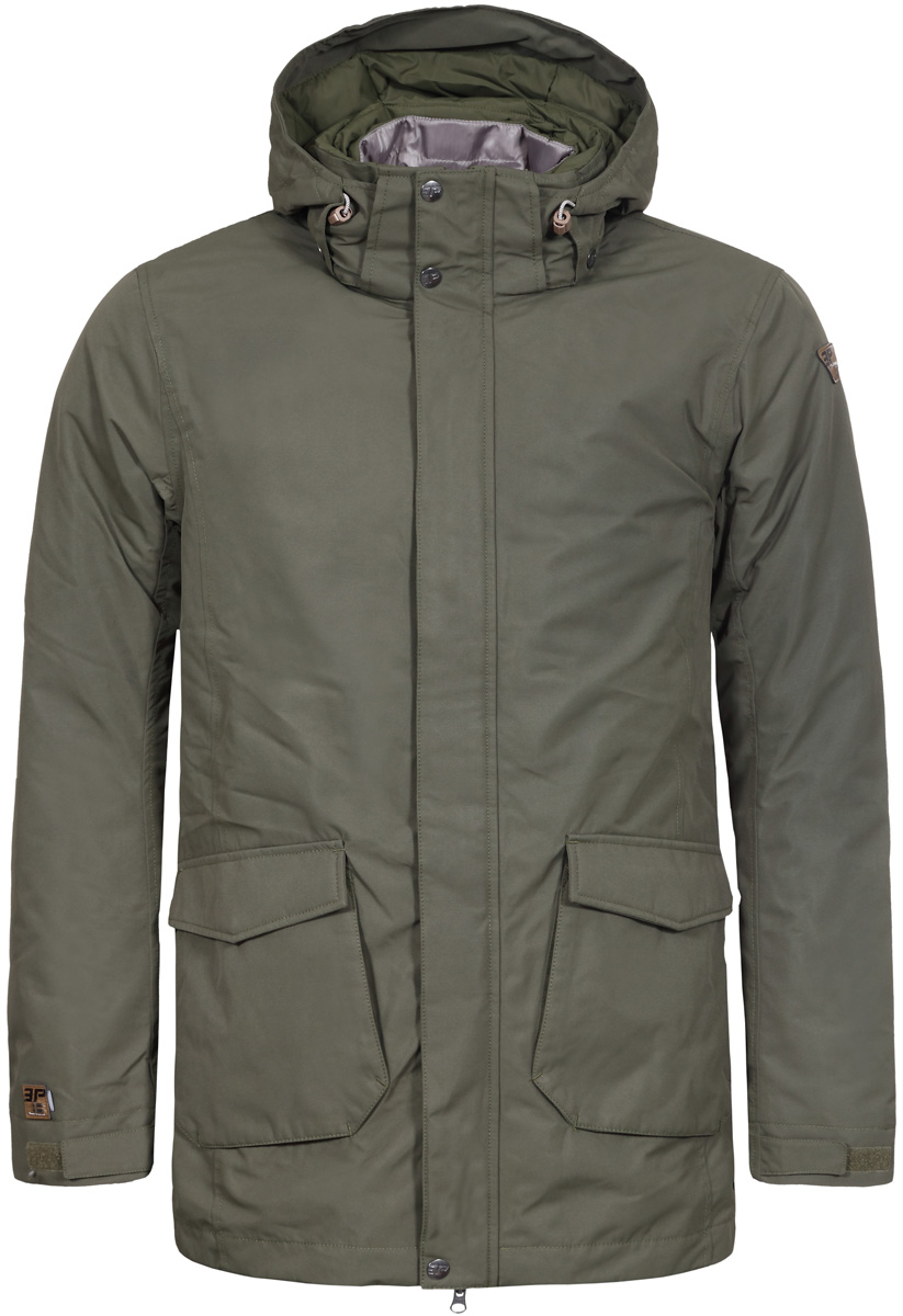 Куртка муж Icepeak, цвет: темно-зеленый. 856041532IV_572. Размер 52856041532IV_572
