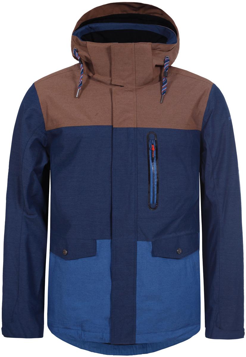 Куртка муж Icepeak, цвет: темно-синий. 856232515IV_365. Размер 52856232515IV_365
