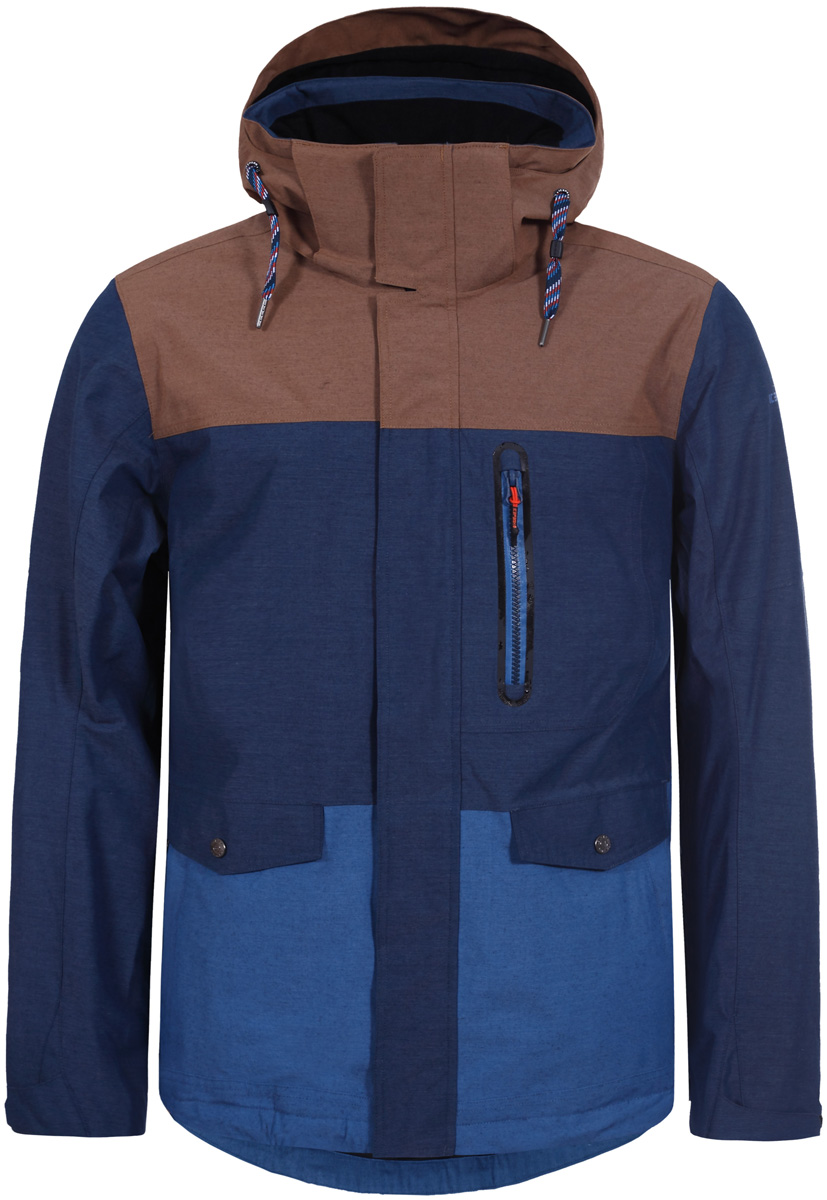 Купить Куртка мужская Icepeak, цвет: темно-синий. 856232515IV_365. Размер 46