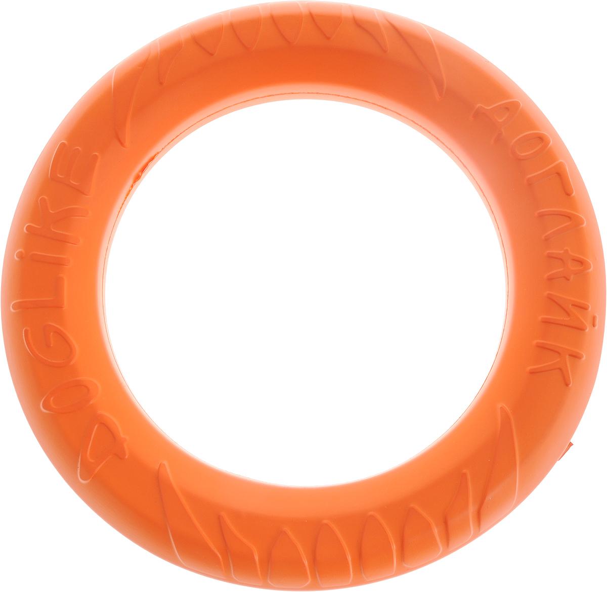 Снаряд Doglike Tug & Twist DL, для дрессировки, цвет: оранжевый. D-1272 игрушка doglike dumbbelldog wood снаряд для апортировки большой деревянный для собак 1кг d 2319