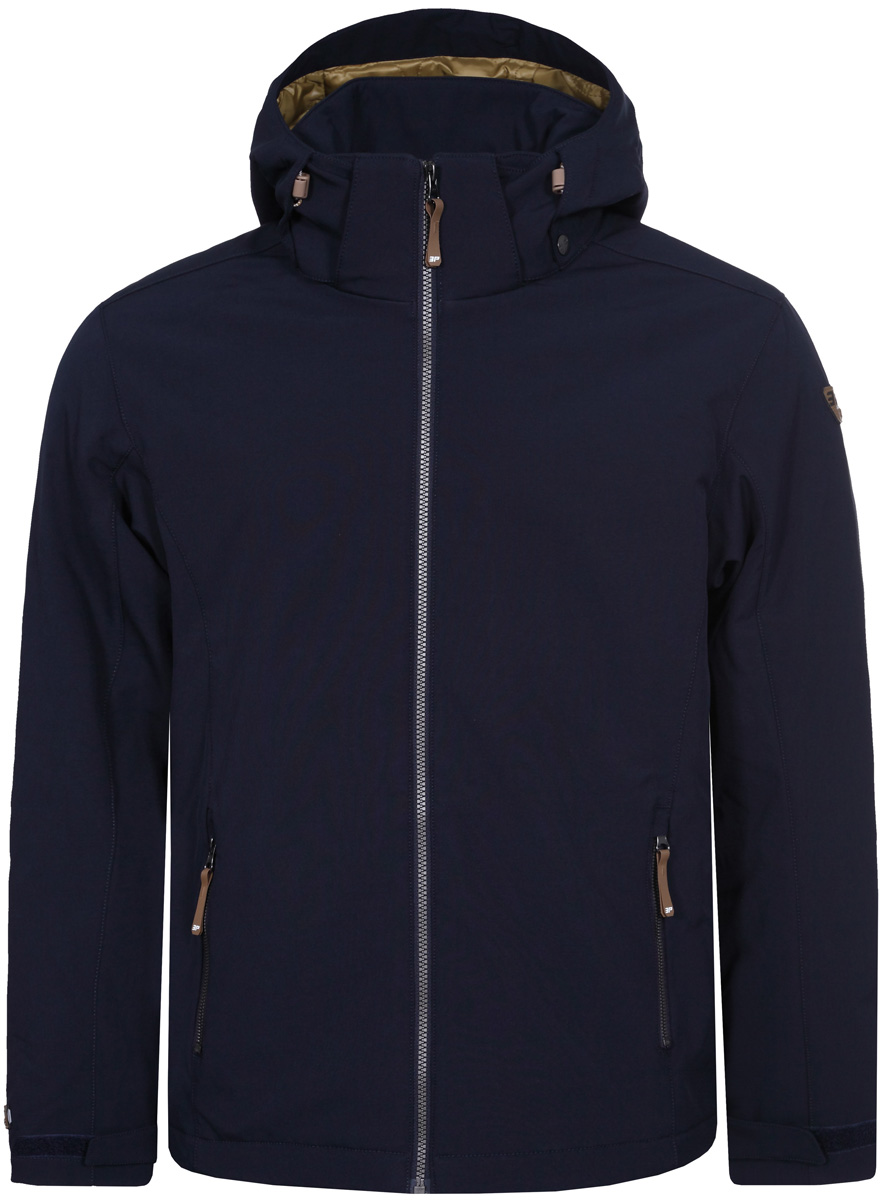 Куртка мужская Icepeak, цвет: темно-синий. 857845682IV_390. Размер L (52) брюки женские icepeak savita цвет темно синий 654020542iv размер 46 52