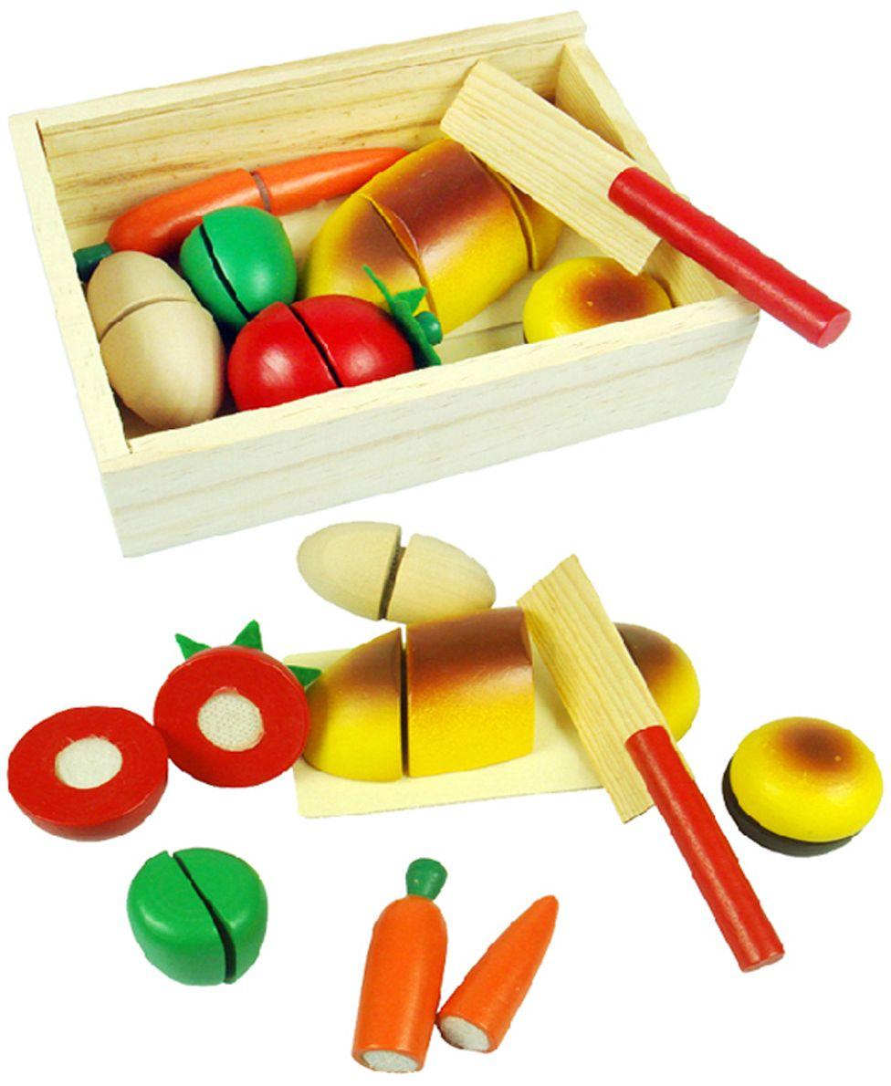 Фабрика Фантазий Обучающая игра Вкусный завтрак наборы для творчества фабрика фантазий набор для создания фигурок из гипса на магнитах фрукты и овощи