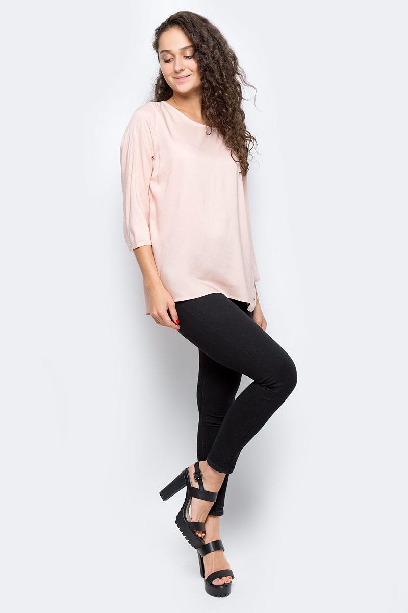 Блузка женская Tom Tailor, цвет: розовый. 2033602.09.71_4676. Размер S (44) футболка женская tom tailor цвет белый 1055030 00 71 8587 размер s 44